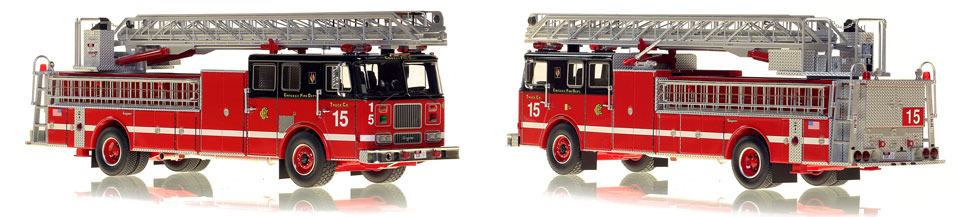 Take home Truck 15...a classic Chicago Seagrave Ladder