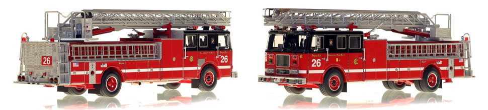 Take home Truck 26...a classic Chicago Seagrave Ladder