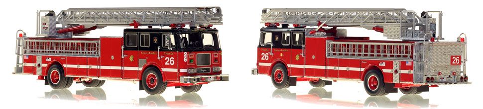 Chicago's 1995 Truck 26 is hand-crafted and intricately detailed.