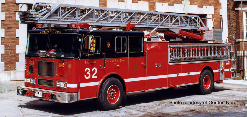 Chicago Fire Department Truck 32 courtesy of Gordon Nord