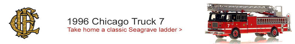 See the Classic Seagrave Truck 7 from Chicago!