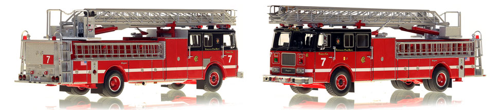 Take home Truck 7...a classic Chicago Seagrave Ladder