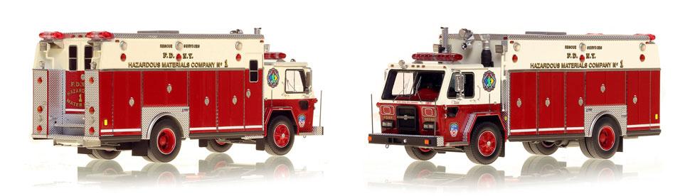 1983 FDNY ALF/Saulsbury Haz-Mat 1 scale model