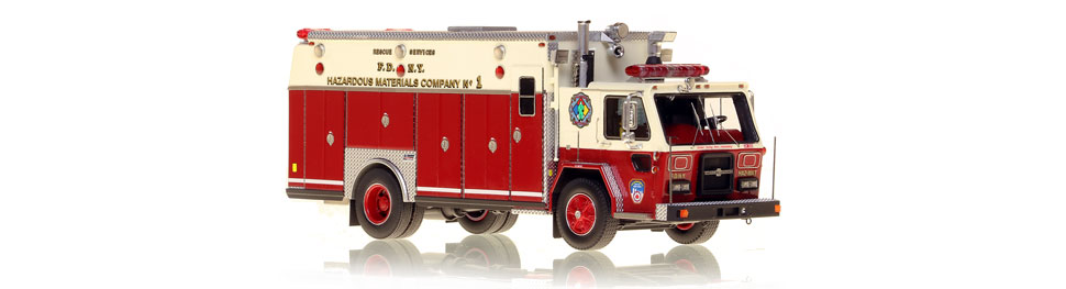 1983 American LaFrance Hazardous Materials Company 1 scale model