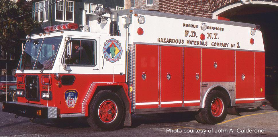 1983 FDNY ALF/Saulsbury Haz-Mat 1 courtesy of John A. Calderone