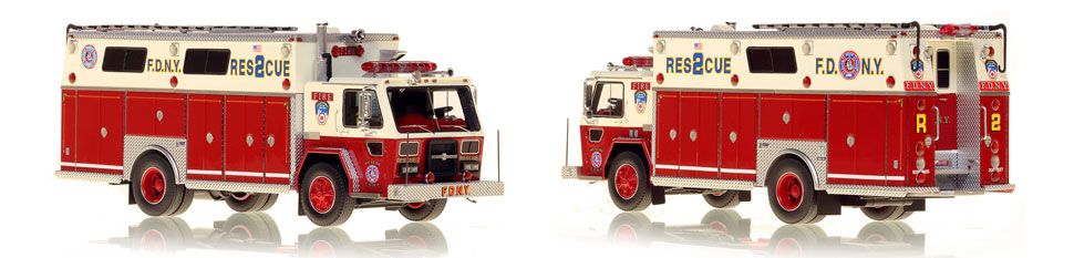 FDNY Rescue 2 with updated patch graphics