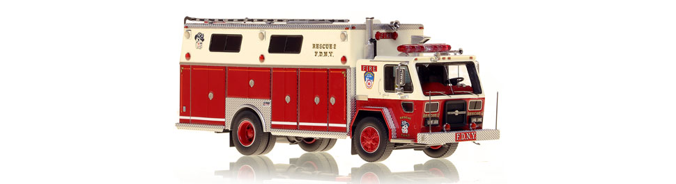 FDNY Rescue 2 - American La-France/Saulsbury as seen in 1983