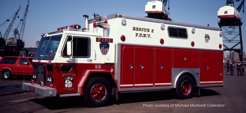 1982 FDNY Rescue 2 from the Michael Martinelli Collection