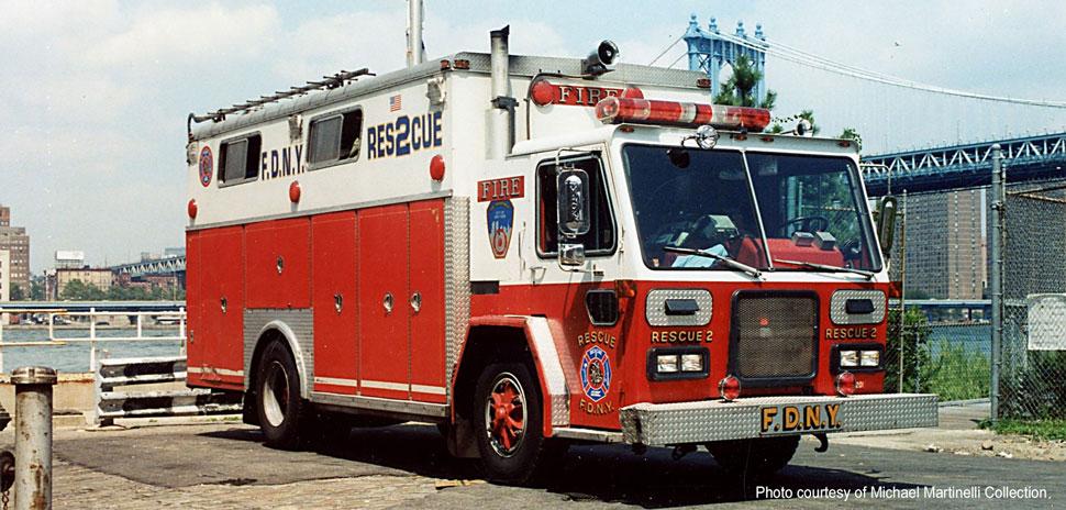 FDNY Rescue 2 courtesy of Michael Martinelli Collection