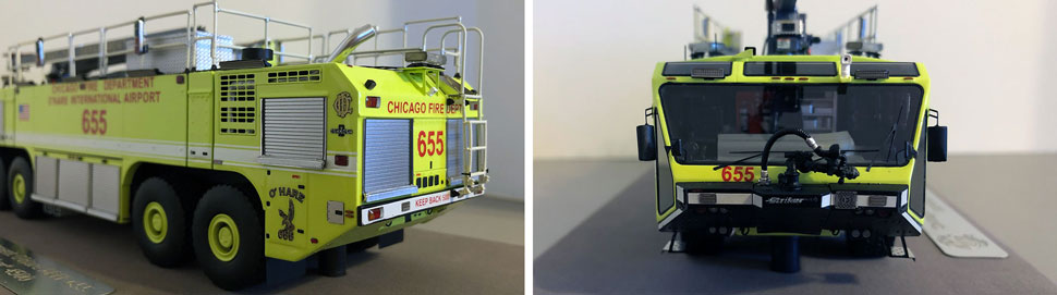 Closeup pictures 5-6 of Chicago O'Hare ARFF 655 scale model