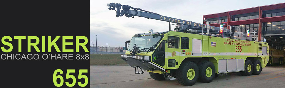 Chicago O'Hare 655 Crash Truck