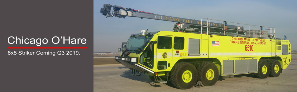 Chicago O'Hare 8x8 Striker scale model coming 2019