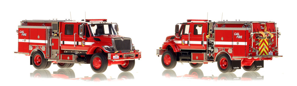 Cal Fire's first museum grade scale model