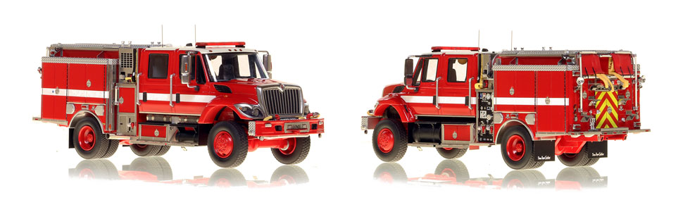 The 2020 Limited Edition Wildland Pumper is hand-crafted and intricately detailed.