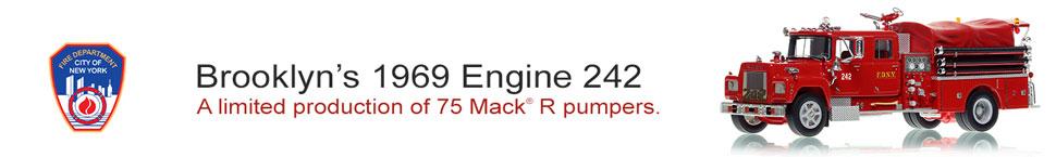 1969 Mack R Engine 242 in Brooklyn, NY