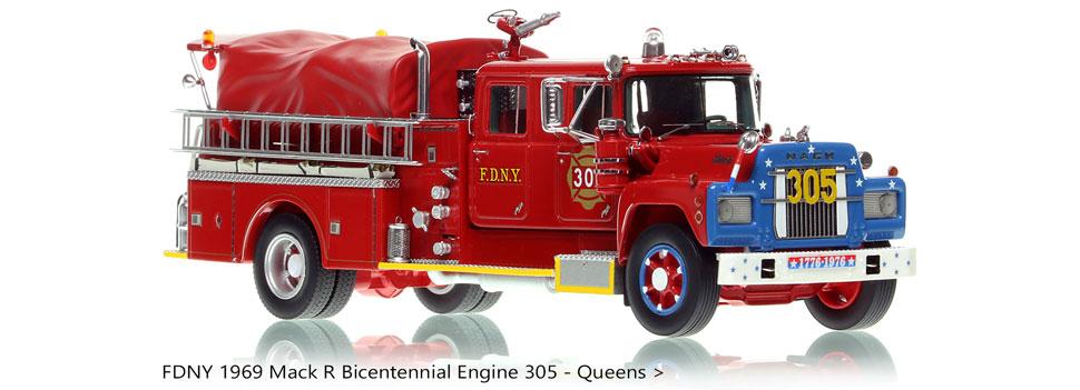 FDNY 1969 Mack R Bicentennial Engine 305 in Queens