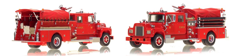Take home a classic Mack...FDNY's 1969 Mack R Engine 91-2