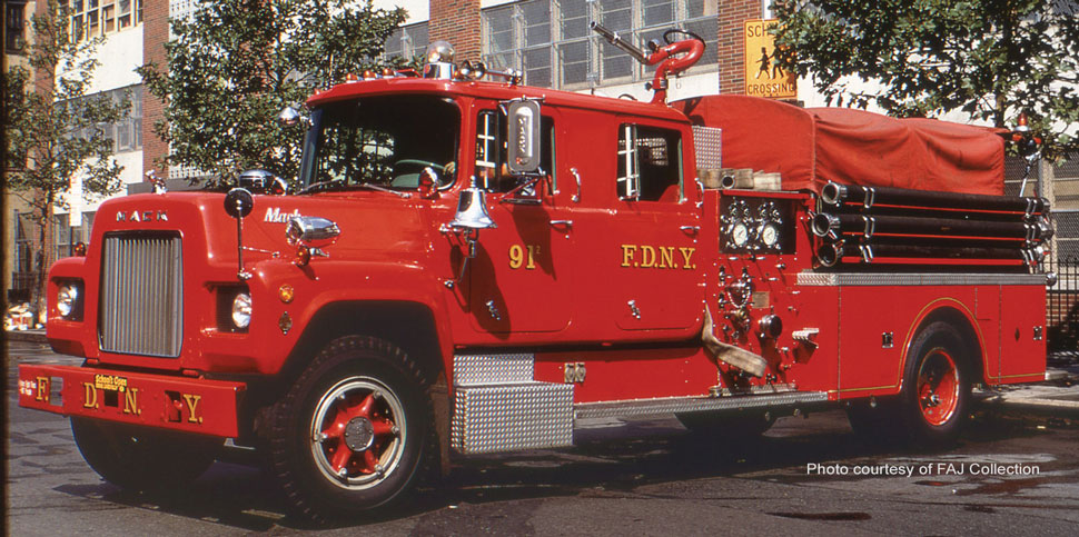FDNY Engine 91-2 courtesy of FAJ Collection