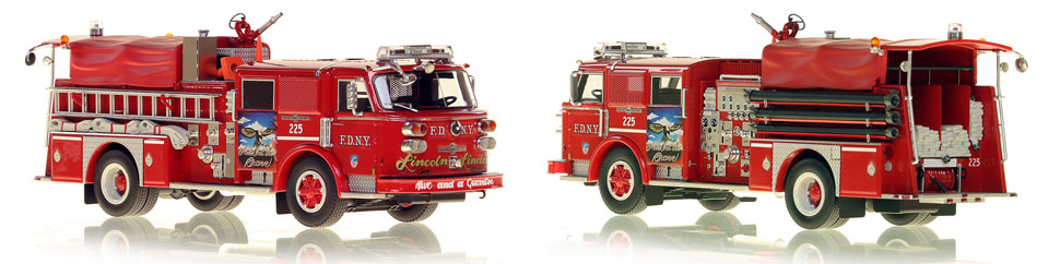 Take home a Classic American LaFrance...FDNY's 1980 Engine 225