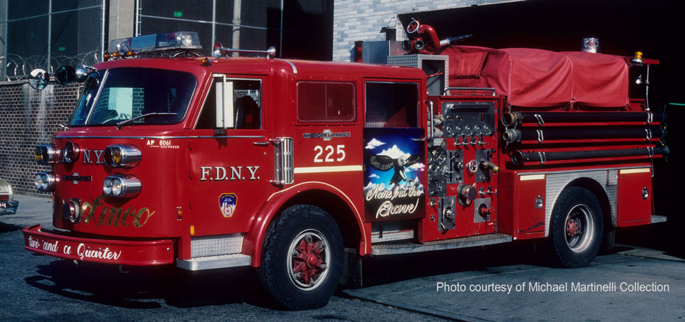 FDNY Engine 225 courtesy of Michael Martinelli Collection