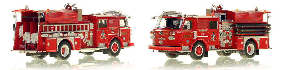 Take home a Classic American LaFrance...FDNY's 1980 Engine 232