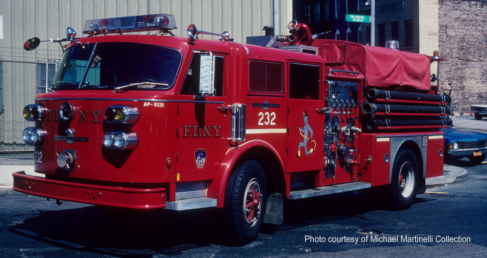 FDNY Engine 232 courtesy of Michael Martinelli Collection
