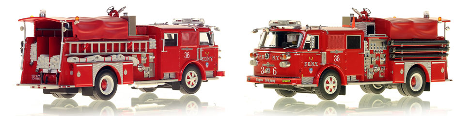 Take home a Classic American LaFrance...FDNY's 1980 Engine 36