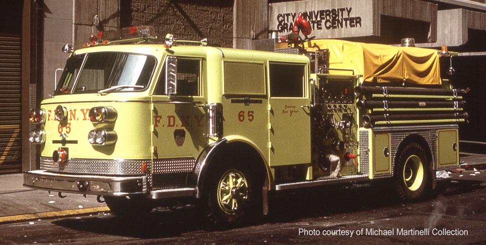 FDNY Engine 65 courtesy of Michael Martinelli Collection
