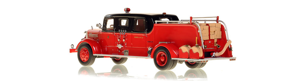 Chicago's 1948 Mack L Sedan Cab models are intricately detailed and limited in production.
