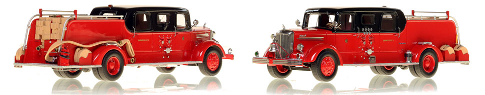 Chicago Mack L Sedan Cab Engine 5 is hand-crafted and limited in production.