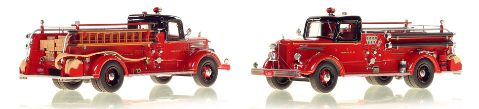 Chicago's 1949 Mack L Engine 25 is hand crafted and limited in production