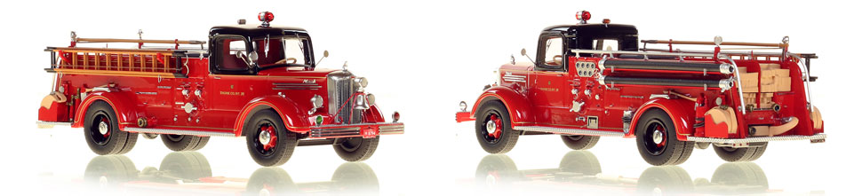 Chicago's 1949 Mack L Engine 28 is hand crafted and limited in production