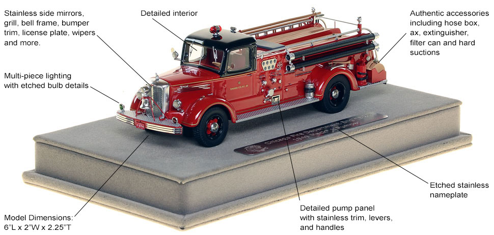 Specs and Features of Chicago 1949 Mack L Engine 28