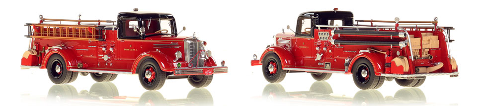 Chicago's 1949 Mack L Engine 4 is hand crafted and limited in production