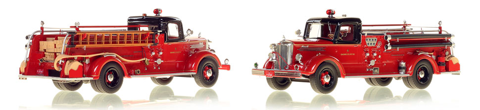 Chicago's 1949 Mack L Engine 68 is hand crafted and limited in production