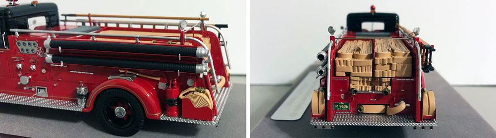 Closeup pics 3-4 of Chicago Mack L Engine 83 scale model