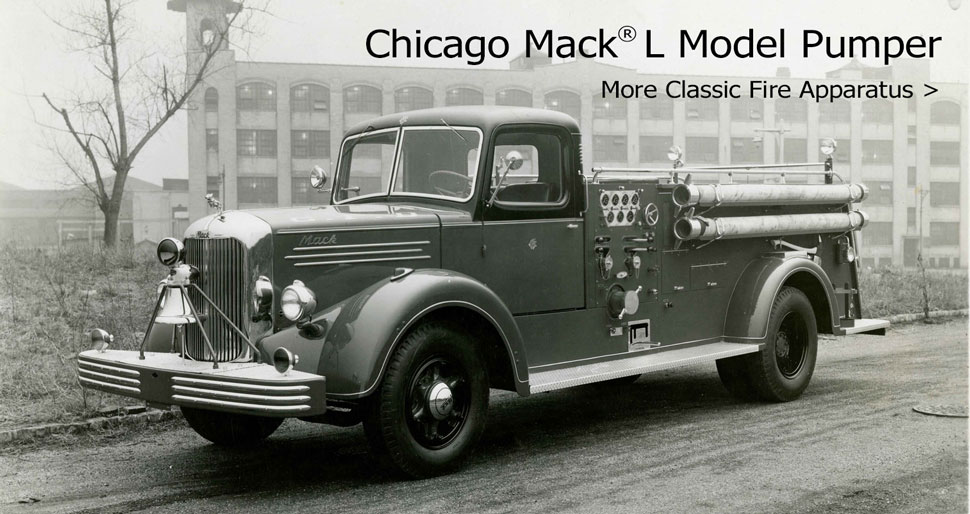 Shop vintage and classic fire truck scale models