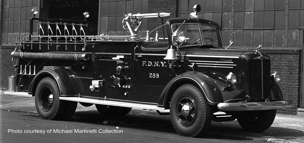 FDNY Engine 289 courtesy of Michael Martinelli Collection