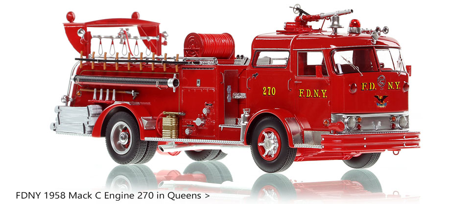 Take home a classic FDNY Mack C Engine 270 today!