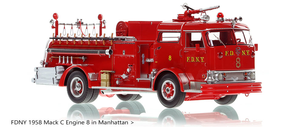Take home a classic FDNY Mack C Engine 8 today!