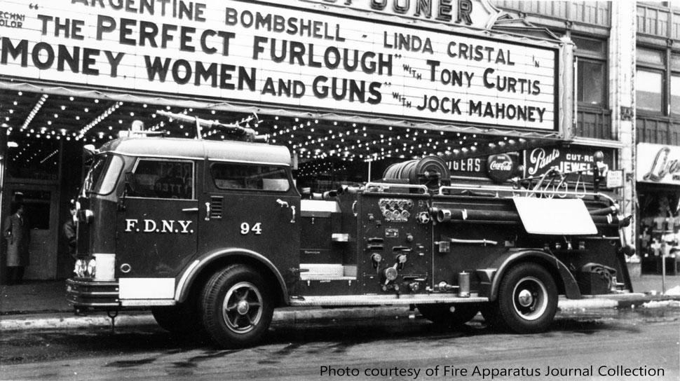 FDNY Mack C Engine 94 courtesy of FAJ Collection
