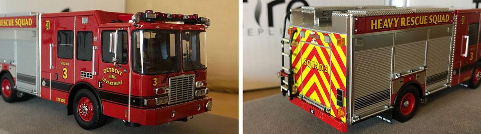 Closeup pics 1-2 of Detroit Heavy Rescue Squad 3 scale model