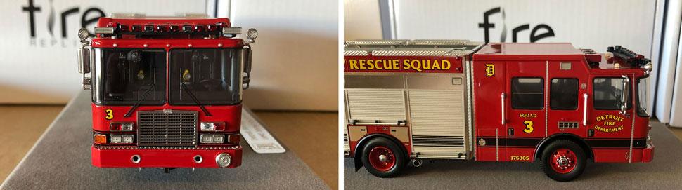 Closeup pics 3-4 of Detroit Heavy Rescue Squad 3 scale model