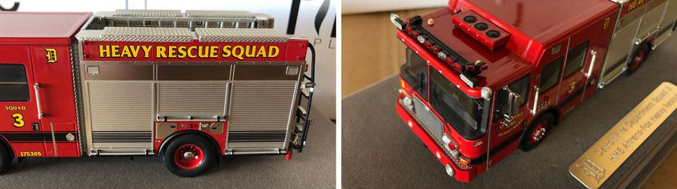 Closeup pics 5-6 of Detroit Heavy Rescue Squad 3 scale model