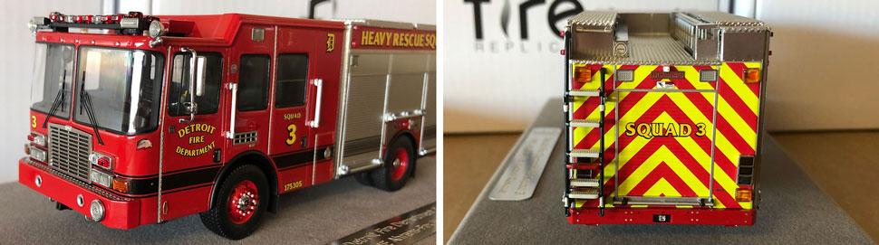 Closeup pics 7-8 of Detroit Heavy Rescue Squad 3 scale model