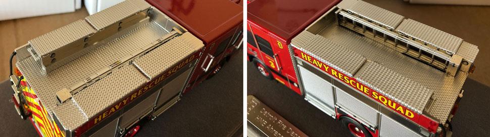 Closeup pics 9-10 of Detroit Heavy Rescue Squad 3 scale model