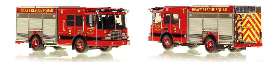 Detroit's Heavy Rescue Squad 5 is hand-crafted and intricately detailed.