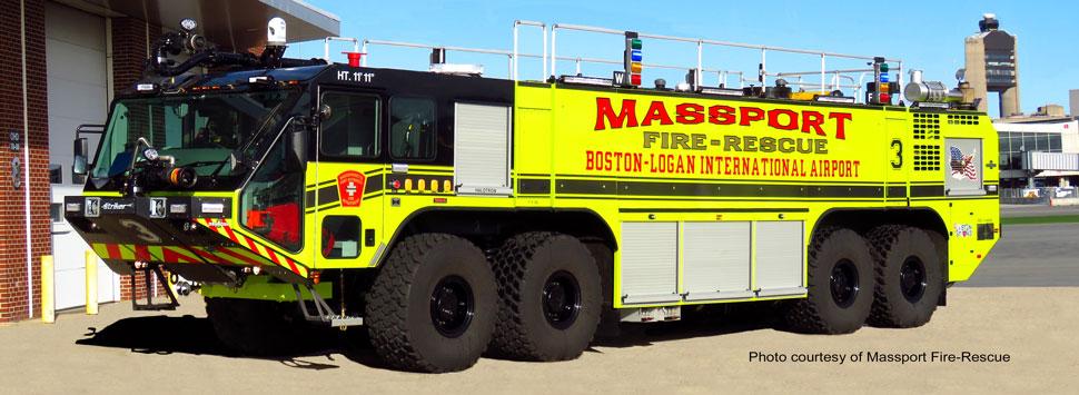 Massport Fire-Rescue Engine 3 courtesy of Massport