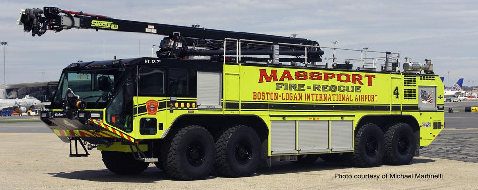 Massport Fire-Rescue Engine 3 courtesy of Michael Martinelli