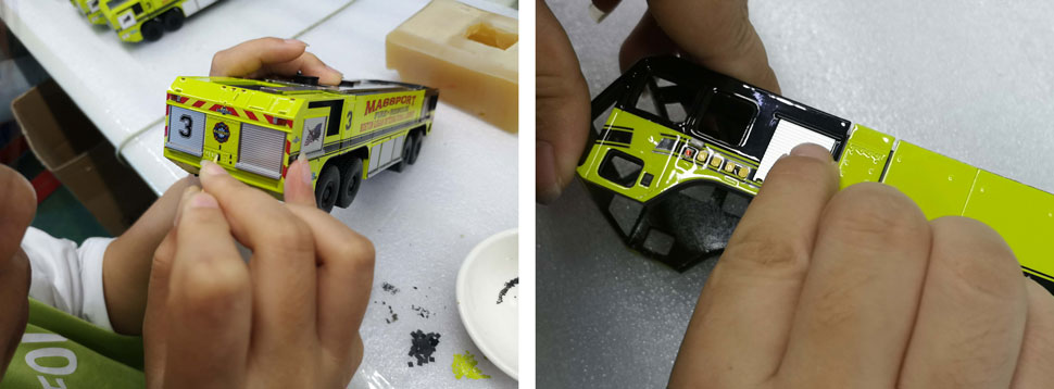 Massport Fire-Rescue Oshkosh 8x8 Assembly Pics 15-16